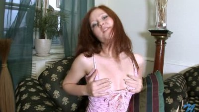 Tight redhead and her inner lust explodes