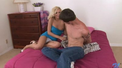 Justine Taylor Intimate Sex with young stud
