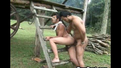 Horny Latin Gay Hardcore Ass Bareback Fucking