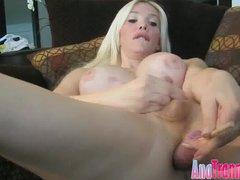 Ana Mancinis anal Lollipop