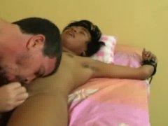 Daddy Tickles Twink Cyruz