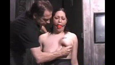 Puertorican titties gets tormented