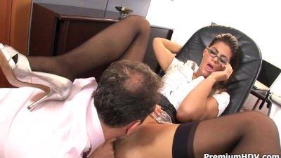 Sexy stockings Valetina Rossini sex dreams