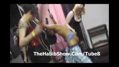 Exxxotica Chicago Marine gets a beat Down by Hoes P2