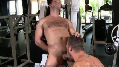 Gym Fuck John Magnum Steven Daigle