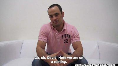 CZECH GAY CASTING DAVID 3474