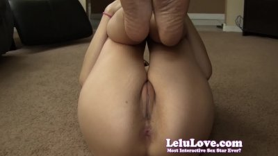 Lelu LoveNaked Workout Asshole Puckering
