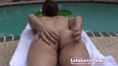 Lelu LoveOutdoors Sunbathing Asshole Puckering