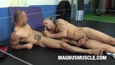 Boxing Buddies Gay Sex Practice