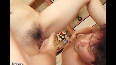 Uncensored Japanese Erotic Fetish Sex One Girl, Two Guys Pt. 6