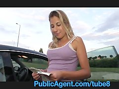 PublicAgent Jennifer rides in the car park
