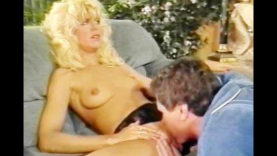 Blonde oral and vagina pleasure