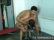 Latino Muscle Dilf Getting Humiliated By His Compadre