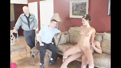 Couple And A Pornstar Threesome