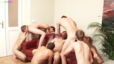 Gangbang Twinks Bareback and Assrimming