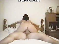Home made video with sexy GF riding