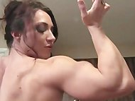 BrandiMae Flexes and Fucks Herself