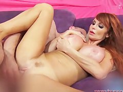 Nympho Taylor Wane Fingers Her Asshole During Sex