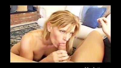 Blonde MILF Caught Masturbating and Squirting
