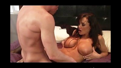 Lisa Ann Sucks and Fucks her Step Son