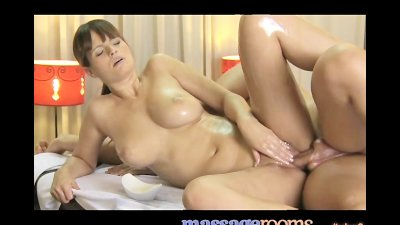 Massage Rooms Dripping wet juicy sex after sensual foreplay