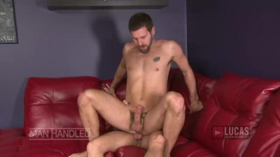 Bearded hung top pounds horny bottom