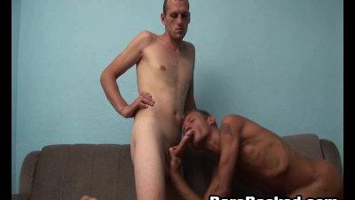 Bareback Sex With Guy Full Of Cum