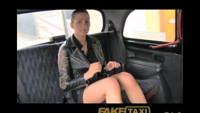 FakeTaxi No money, so she pays with her pussy