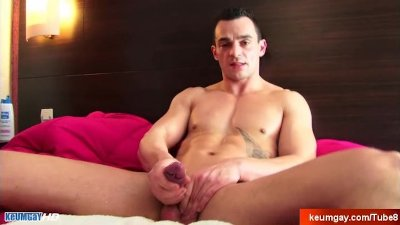 Straight guy get wanked