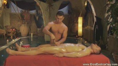 Gay Stimulative Genital Massage