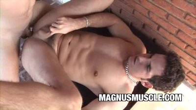 BeefCake Arcanjo Amaro Fucking His Lover Outdoor