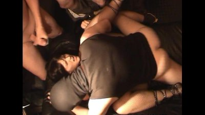 Naughty wife gets fucked by lots of guys