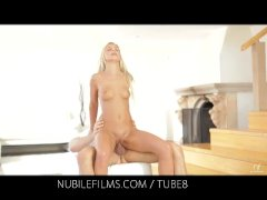 Nubile Films   Would you lick the cum from Dido Angels creampie pussy?