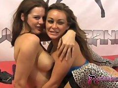 Shebang TV   Two sexy lesbian sluts in very hot erotic scene
