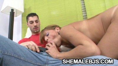 Melina - A Big-Cock Craving Latina Shemale