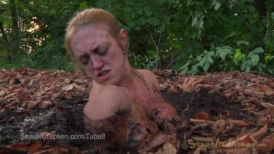 Big Boob MILF Darling Stuck in Quicksand