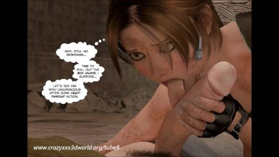 3D Comic: Clara Ravens. Episode 3