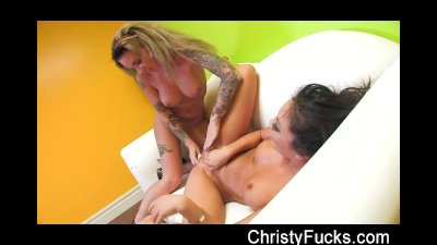 Asa Akira And Christy Mack Fuck