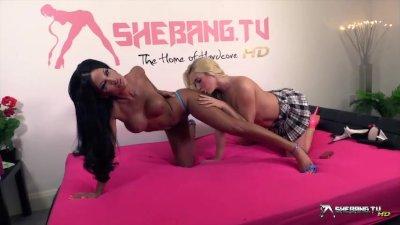 Shebang.TV - Elicia Solis & Victoria Summers