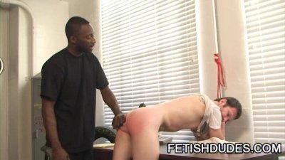 Hot Boi And Luke Cross - Black Dude Spanking A White Ass