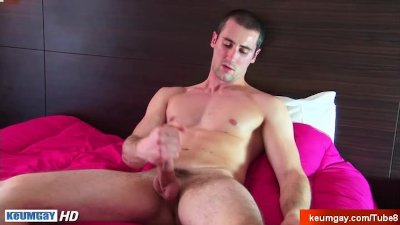 Hey! What are you doing to my huge cock? I'm a straight guy !