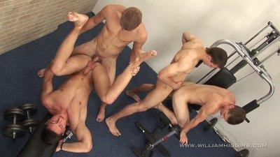WilliamHiggins - Wank Party #5 - teaser 1