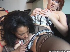 Danica   Red Lesbian Loving