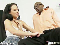 EXCLUSIVE: Teen Fucks Black Step Daddy