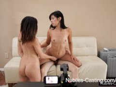 Nubiles Casting   Will a pussy full of jizz get her the job?