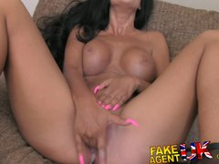 FakeAgentUK Ass grinding and pussy juice galore from Essex girl