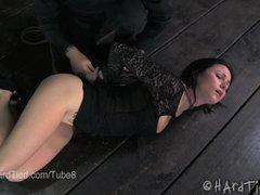 Veruca James Submits Sensually in Rope Bondage