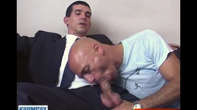 I'll sign the contract if I can suck your huge straight cock!