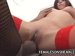 Loly And Lola   Shemale Fucks A Girl