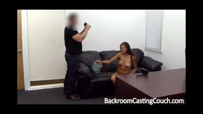 Tall Model Assfucked on Casting Couch
